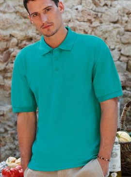 Fruit Of The Loom Light Weight Polo Shirt
